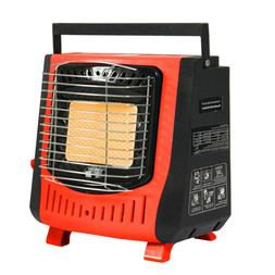 1.2KW Gas Space Heater for Home Living Room Bedroom Camping