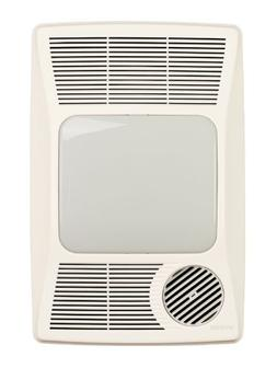 Broan 100 CFM Bathroom Fan with Heater and Light