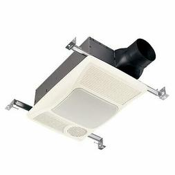 Broan 100HL - 100 CFM - Bathroom Exhaust Fan with Heater and