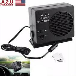 12V 150W/300W Auto Car Truck Fan Heater Portable Window Defr