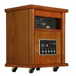 Homegear 1500W Infrared Electric Portable Wooden Space Heate