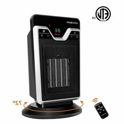 1500W Mini Ceramic Electric Heater Home Office Space Heating