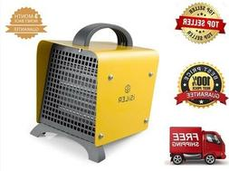 iSiLER 1500W Space Heater Portable Garage Heater Ceramic Spa