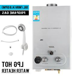 18L LPG Gas Instant Boiler Propane Tankless Home Hot Water H