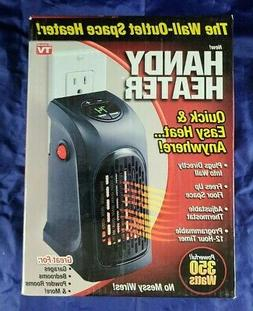 2 Hunting Camping RV Travel Trailer Handy Space Heaters Port