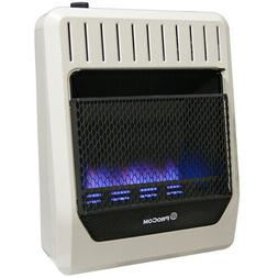 ProCom  Ventless Dual Fuel Blue Flame Gas Heater, T-Stat , V