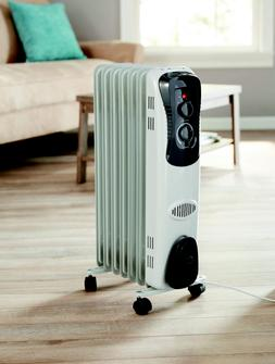 2017 Electric Oil Filled Radiator 1500W Space Room Heater Th