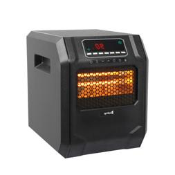 1500 Watt Electric Space Heater Infrared Cabinet LED Display