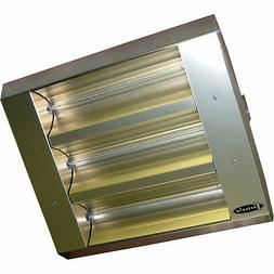 TPI 60° 3-Lamp Symmetrical Infrared Heater, 4800W 480V,