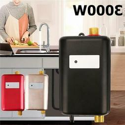 3000W Mini Electric Instant Tankless Hot Water Heater Bathro