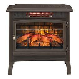 Duraflame 3D Infrared Electric Fireplace Stove with Remote C