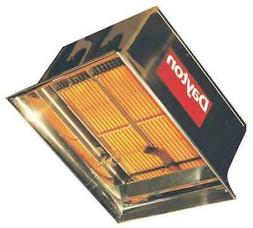 DAYTON 3E133 Commercial Infrared Heater, NG, 60,000 BtuH Inp