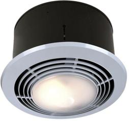 70 CFM Ceiling Bathroom Exhaust Bath Fan With Light And Heat