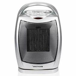 750W/1500W ETL Listed Quiet Ceramic Space Heater with Adjust