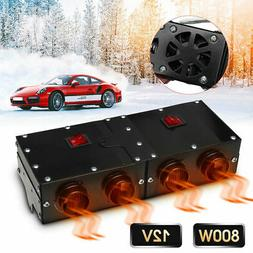 800W Car Heater Heating Warmer For Four Fans Windscreen Defr
