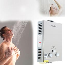 8L Gas Tankless Instant Water Heater Boiler LPG Propane Stee