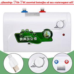 8L Instant Electric Tankless Hot Water Heater for Home Kitch