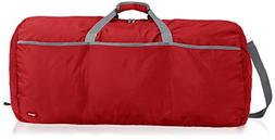 AmazonBasics Large Duffel Bag, Red