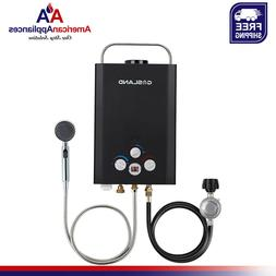 Gasland BE158B 1.58GPM 6L Outdoor Portable Gas Water Heater