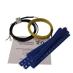 cosyfloor C3025 25 sq. ft. Cable Fixing Strips - 110V