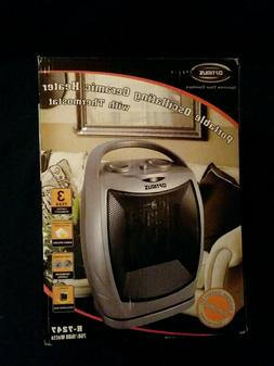 Ceramic Heater Optimus H-7247 Portable Oscillating with Ther