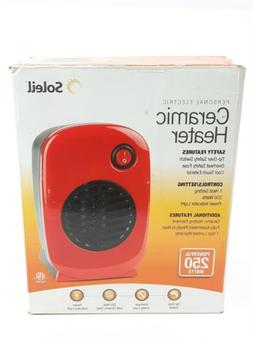NEW Ceramic Heater Personal Portable Soleil Electric Space H