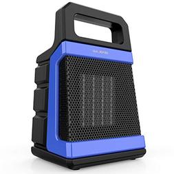 1500/1000W Ceramic Space Heater, PTC Portable Heaters with A