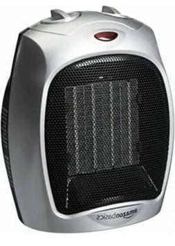 AmazonBasics 1500 Watt Ceramic Space Heater with Adjustable