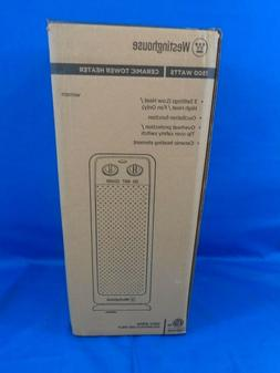 """Ceramic Space Heater Energy Efficient Tower Oscillating 19"""""""