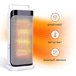 TRUSTECH Ceramic Space Heater - Tower Heater for Office Heat