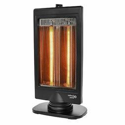 Comfort Zone CZHTV9 Oscillating Electric Halogen Radiant Hea