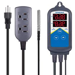 Inkbird Digital Pre-wired Temperature Controller ITC-306T Th