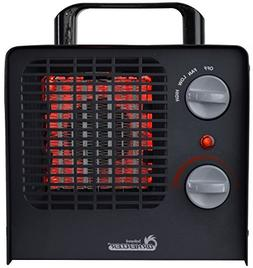 Dr. Heater DR-838 Family Red Ceramic Space Heater with Adjus