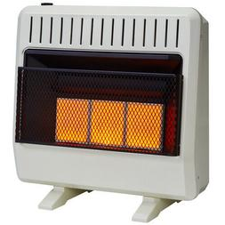 Avenger Dual Fuel Ventless Infrared Gas  Heater With Blower