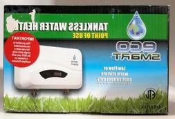 ECO SMART POU 3.5 120V ELECTRIC TANKLESS WATER HEATER POINT