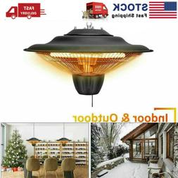 Electric Hanging Patio Heater 1500W Home Balcony Ceiling Mou