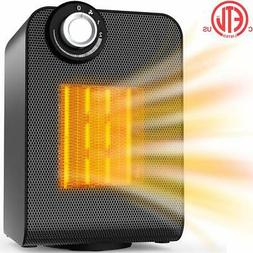 Electric Heater, Space Heater for Indoor Use, Portable Ceram