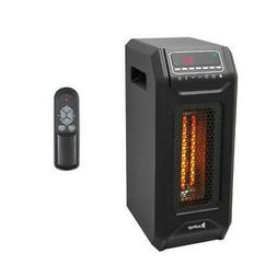 Electric Infrared Space Heater 1500W 12H Timer Remote Contro