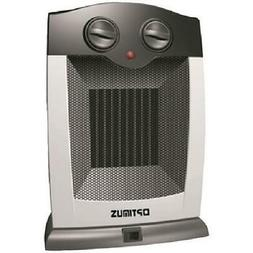 Optimus Electric Portable Oscillating Ceramic Heater with Th