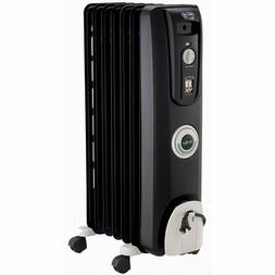 Electric Radiant Radiator Heater Oil Filled Portable Indoor