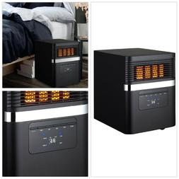 Electric Space Heater for Office Infrared Living Room Portab