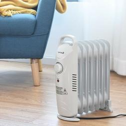 Portable Electric Space Heater Small Oil Filled Room Radiato