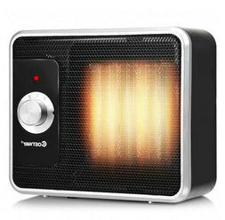 Electric Space Heater Small 1200 W Portable Electric PTC Til