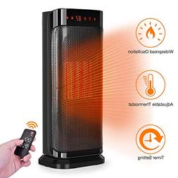 TRUSTECH Electric Space, 750W 1500W Fast Heating Portable Os