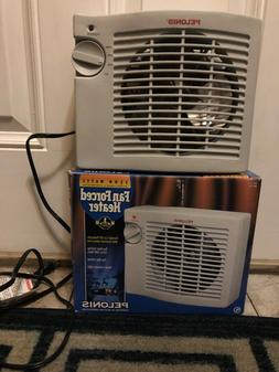 PELONIS FAN FORCED HEATER 1500 WATTS HB-155 Brand new
