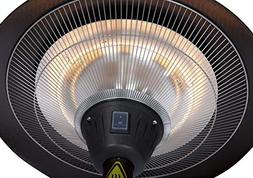Fire Sense Frisco Bronze Colored Halogen Patio Heater