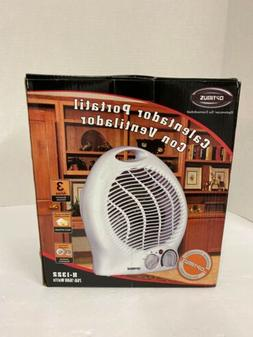 Optimus H-1322 Portable 2-Speed Fan Heater with Thermostat H