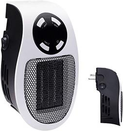 Brightown Handy Wall-Outlet Space Heater, Plug-in Ceramic Mi
