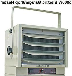 Comfort Zone Heater Garage Shop Utility Industrial Use 5000W