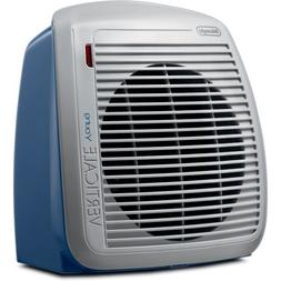 DeLonghi HVY1030BL 1500-Watt Fan Heater - Blue with Gray Fac